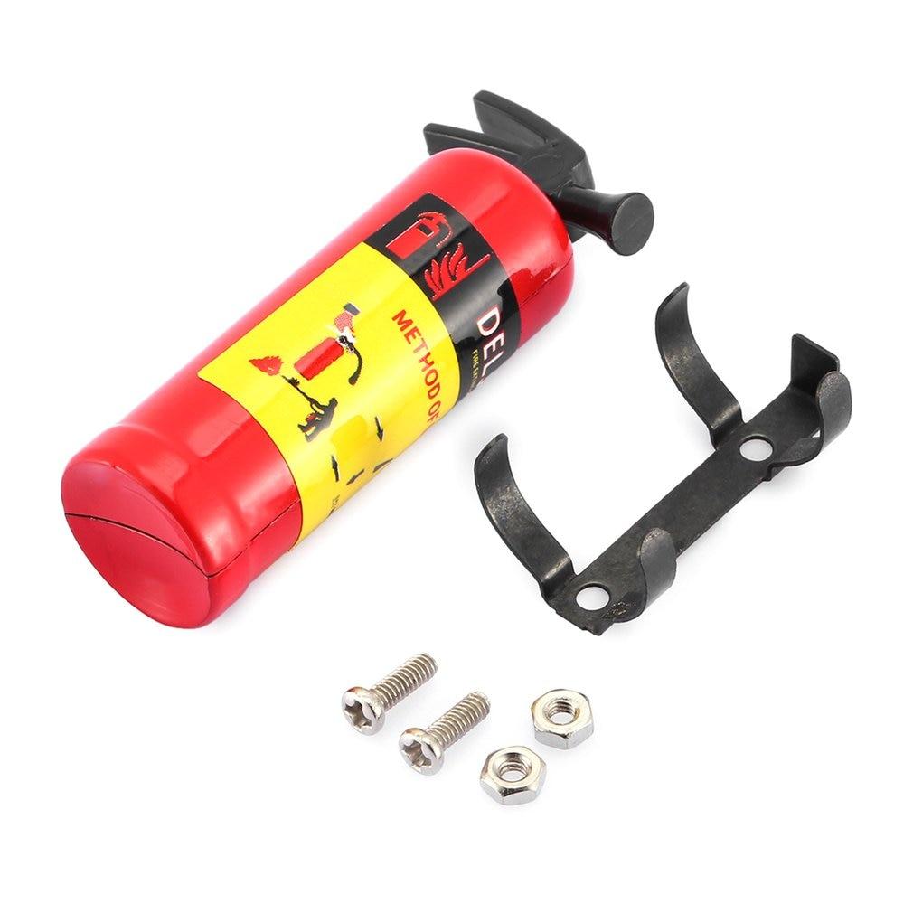 Mini Brandblusser Speelgoed T-Power 1/10 Schaal Brandblusser Simulatie Rc Rock Crawler Voor Amiya CC01 RC4WD Accessoire speelgoed