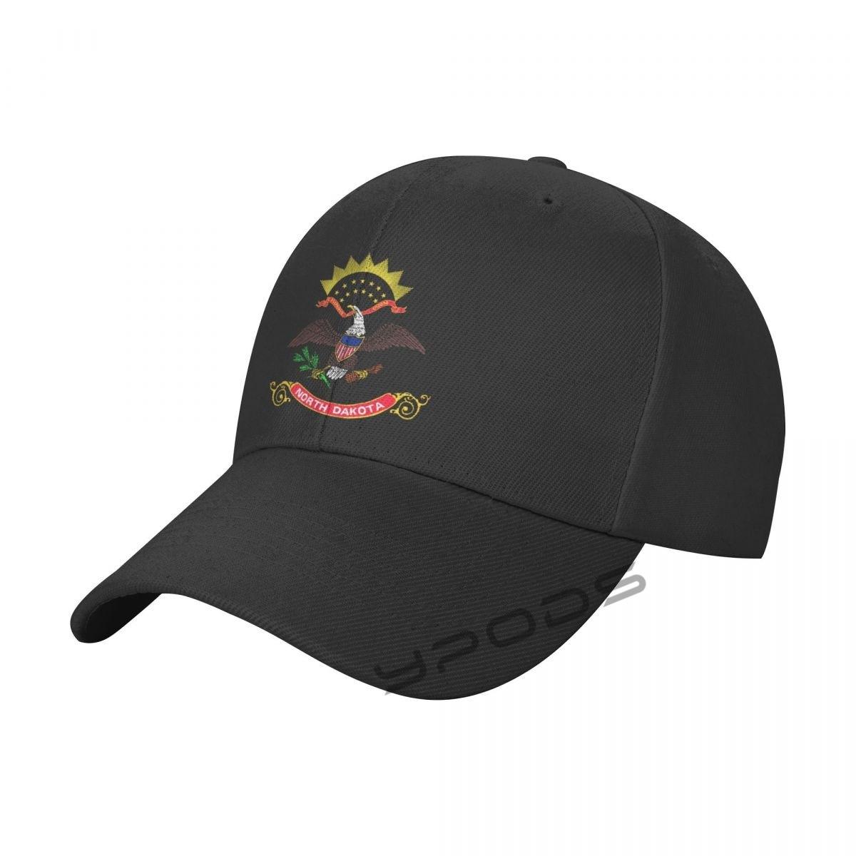 Новинка, бейсболка с флагом штата Северной Дакоты, кепка для мужчин и женщин, мужская Кепка, Снэпбэк Кепка, повседневная Кепка, кепки