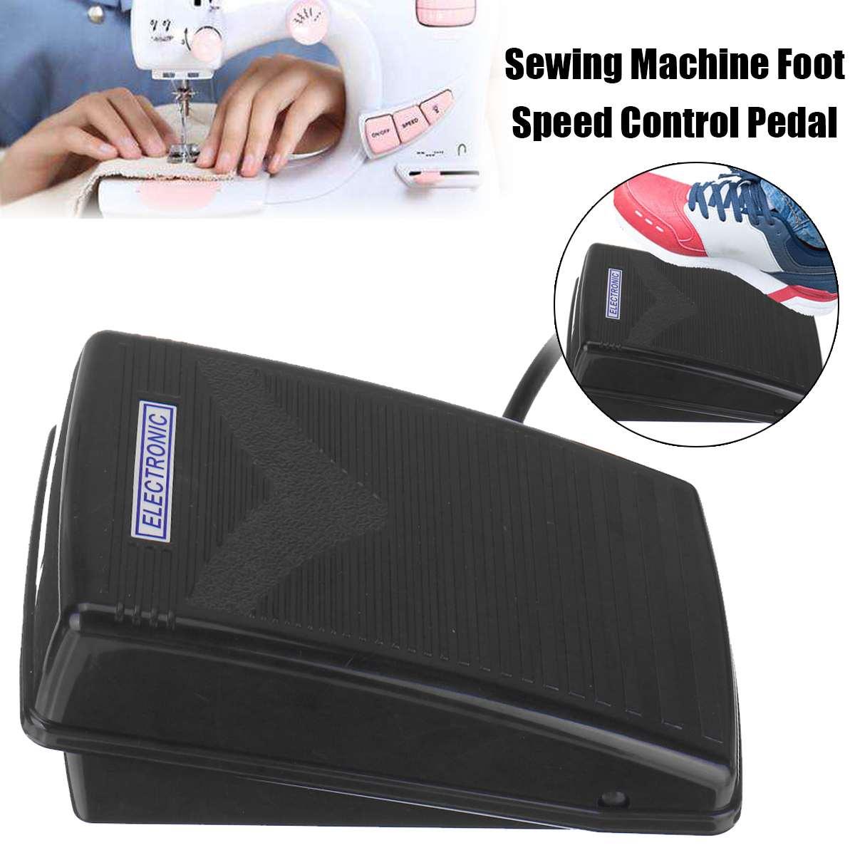 Haushalt Nähmaschine Motor + Fuß Pedal Speed Controller 110-220V Nähmaschine Teile Für Babylock Brother