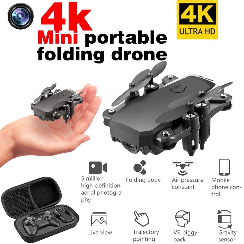 LF606 cuadricóptero Mini Drone con cámara 4K HD Drones plegables retorno de una llave FPV Sígueme RC helicóptero quadrocopter pieza chico Juguetes