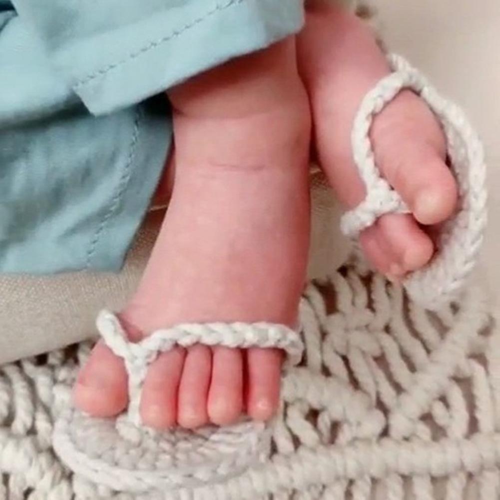 Для новорожденных; Для малышей; Цвет мини крючком шлепки для тапочки фото реквизит Забавный комплект одежды: Футболки с фото украшения для с...