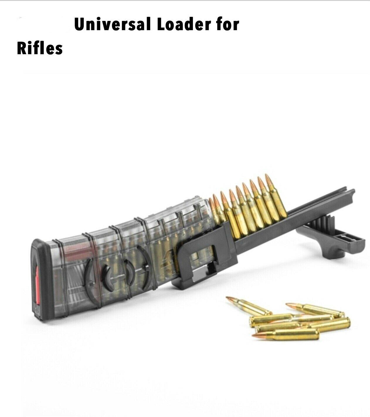 PMAG velocidad cargadora de ruedas Rifle revista Universal 223 5,56, 308 de 7,62x39x5,45x39 x 22LR 22 caza arma Ruger Colt