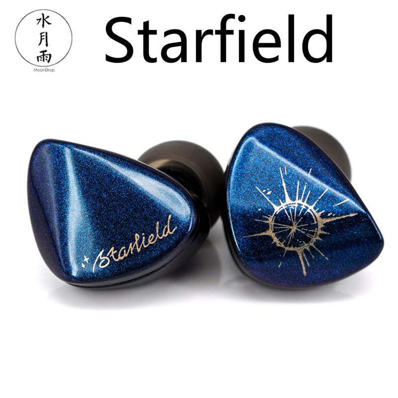 MoonDrop-سماعات رأس من Starfield مزودة بأنبوب نانو كربوني ، وسماعات رأس رياضية مزودة بمراقب ديناميكي Hifi للموسيقى ، واستوديو DJ