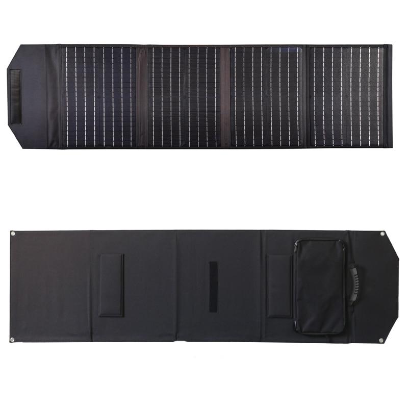 الأعلى مبيعًا على شكل لوح من الخلايا الشمسية أحادية قابلة للطي من أمازون طراز واحد أطقم ألواح خلايا أحادية قابلة للطي 100 وات