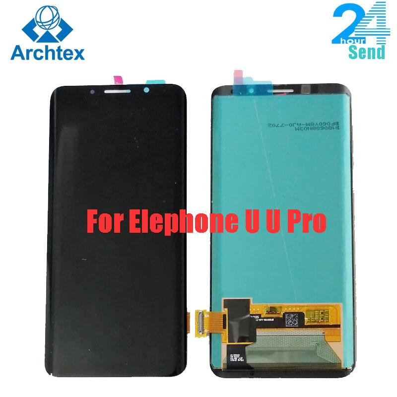 ЖК-дисплей и сенсорный экран ARCHTEX для Elephone U Pro, 5,99 дюймов