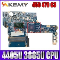 akemy pentium processor 4405u 3885u for hp probook 450 470 g3 motherboard modelx63c dax63cmb6d1mainboard 100 tested