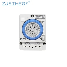 Time-Controler TB35N 100-240V 15A Din Rail Water Heater Programmable Timer Analog Switch Mechanical