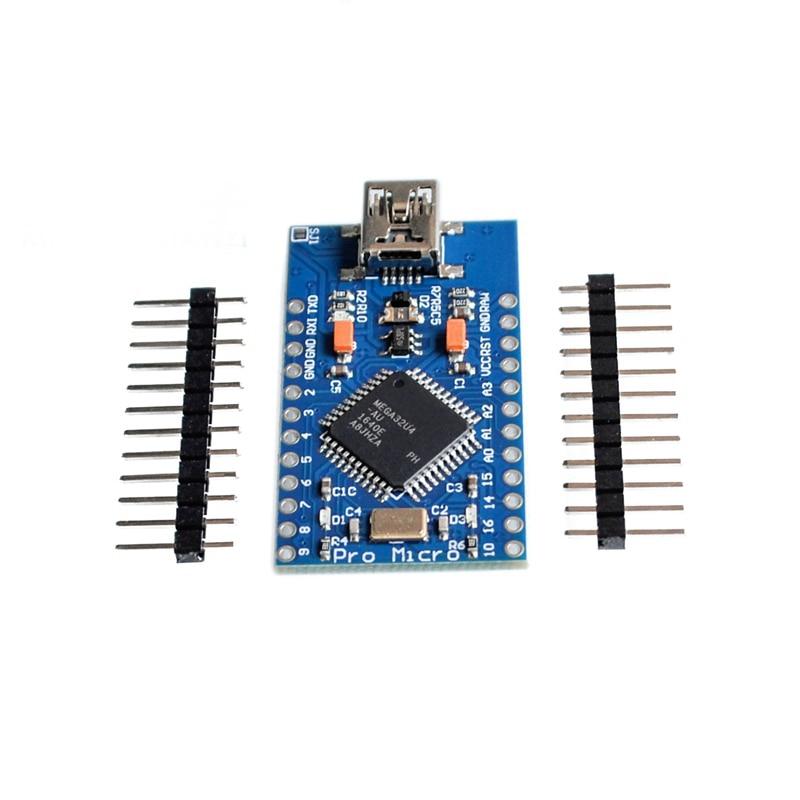 pro Micro Development Board with header pro mini USB ATMEGA32U4 5V 16MHz  for Arduino MEGA2560 недорого