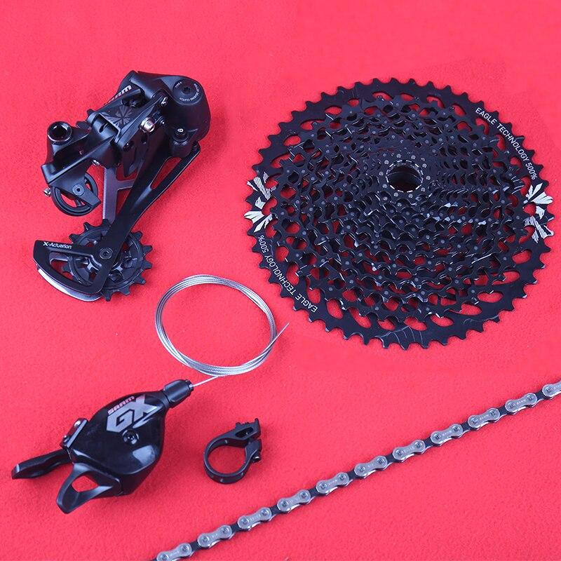 SRAM GX EAGLE 1X12S 12 скоростная Маленькая группа набор для горных велосипедов рычаг переключения заднего переключателя цепь кассета 10-50T MTB
