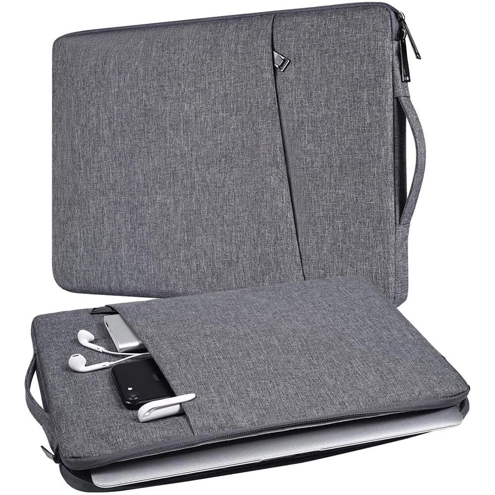 Laptop Bag Case For Macbook Pro Air 13.3 14 15 15.6 15.4 16 Inch Notebook Case Handbag For HP Acer Xiaomi Asus Lenovo Sleeve Bag