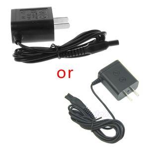 Универсальный адаптер для зарядного устройства переменного тока с вилкой США черный для бритвы 27RB