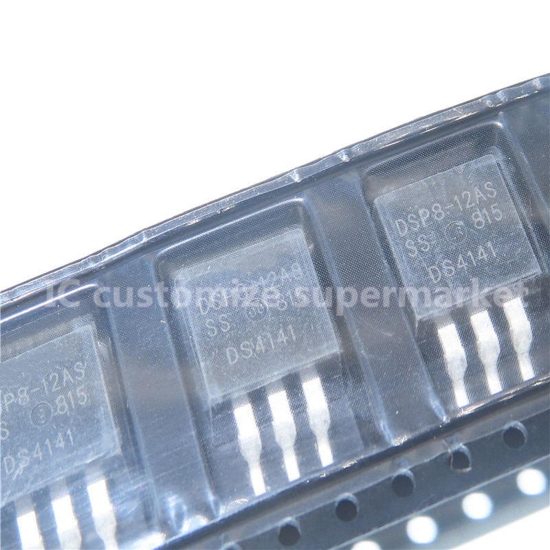 10PCS/LOT DSP8-12S   TO-263 1200V 8A SMD Triode