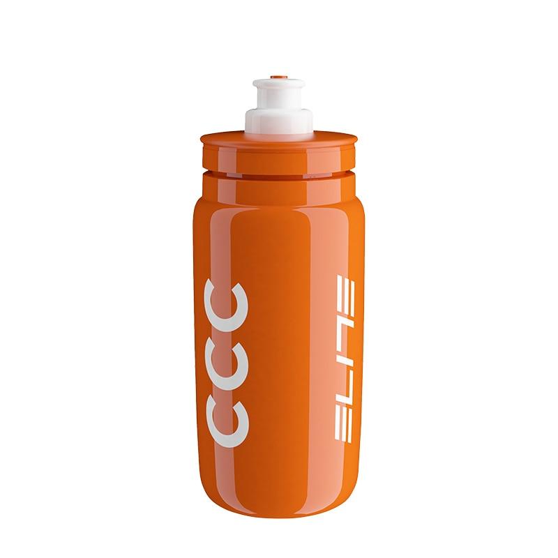Ultra light Bicycle Water Bottle Elite Team Edition Sports Kettle MTB Cycling Bike Road Racing Bottle 550ML