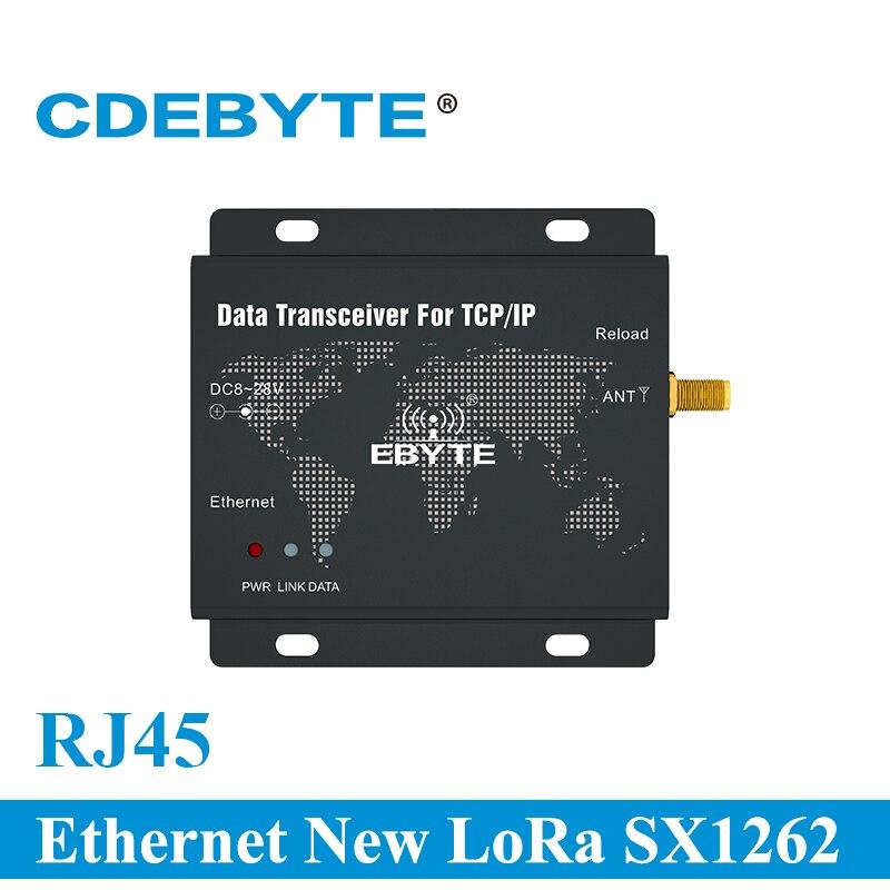 Фото - RJ45 Ethernet New LoRa SX1262 22dBm 230MHz TCP UDP Serial Port Wireless Transceiver Modem E90-DTU(230SL22-ETH) serial port 56k fax modem external modem serial port cat fax cat free driver