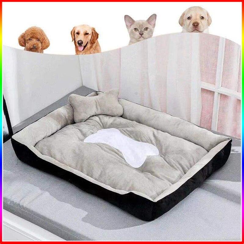 Royal Animals Super Soft Sofa Dog Beds Waterproof Bottom Soft Fleece Warm Bed For Dog Plus Size Soft Pet Bed Cat Bed Winter