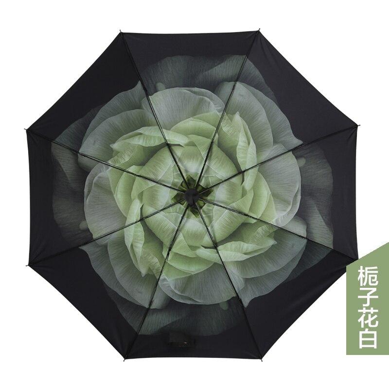 Lidar com Menina Resistente ao Vento Tecido Fora Guarda-chuva Dobrável Crianças Guarda-sol Proteção uv Sombrinhas Feminino Sol Ea60ys