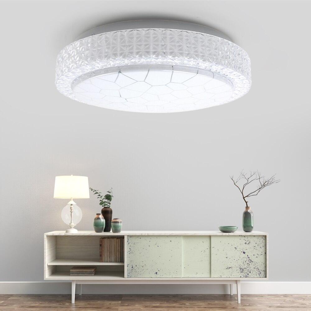 LED Ceiling Lamp Hall Flush Mount Corridor Office Showroom Ceiling Lights 12W 18W 24W 36W Ceiling Lights Ultra Thin Lighting