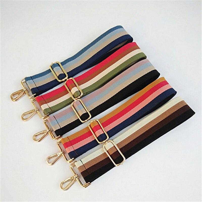 HJKL холщовые регулируемые нейлоновые женские широкие сумки на ремешке, шикарные классические женские Наплечные ремни для сумок, легкие подходящие сумки, подарочные ручки obag