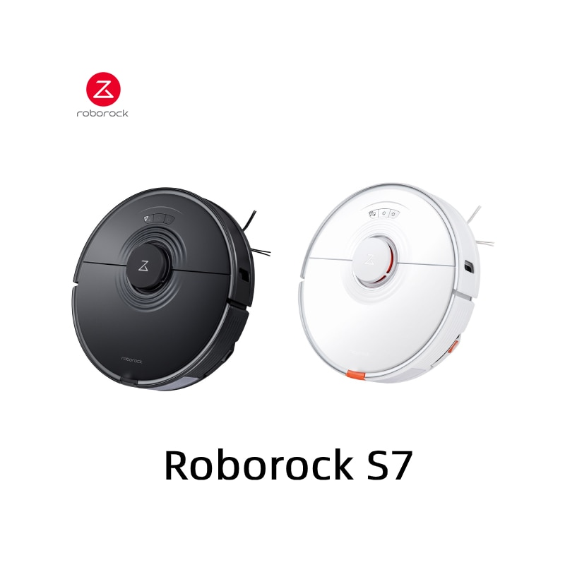 Roborock S7 Robot Vacuum Cleaner Wet Dry Smart Home Mopping Sweeping Dust Cleaner 2500Pa Suction Auto Mopping Sweeping For Home