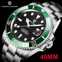 2021 PAGANI Design Top Brand New 40mm Men's Mechanical Clock Stainless Steel Automatic Watch Sapphir