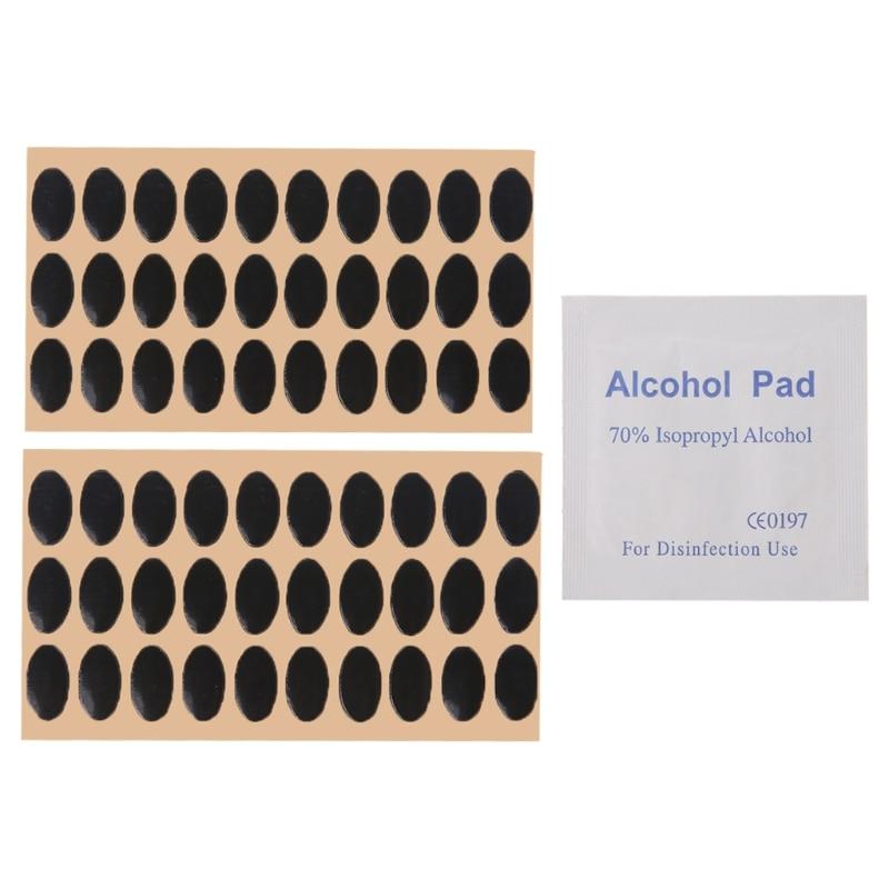 60 pcs Teflon Mouse Feet Mouse Skates Pads - For Logitech M215 / M310 / M325