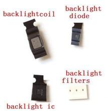 Kit de soluciones de retroiluminación de 5 piezas, bobina L4020 L4021 + diodo L1503 T5301 para IPhone 6 6SP 7 7P 8 8P, reparación de retroiluminación de la placa base IC