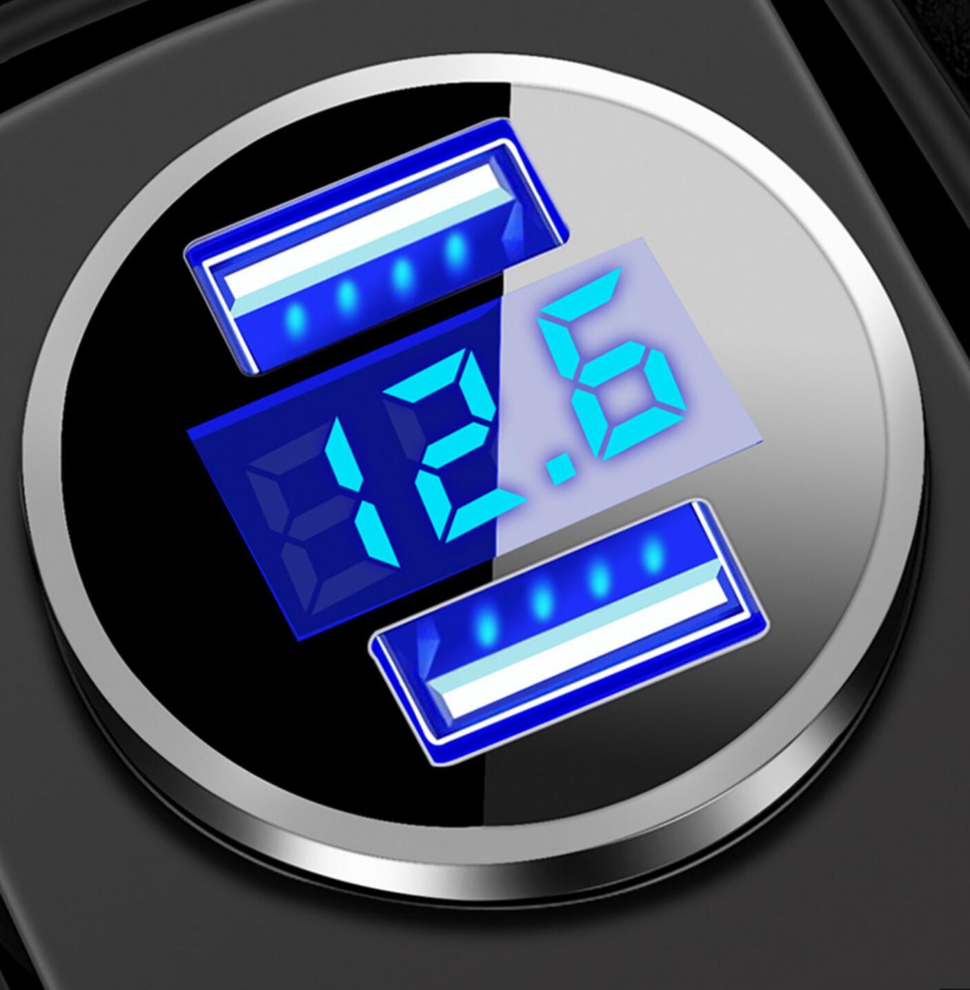 Dual port USB 3.1A car charger LED display for Opel Astra VAUXHALL MOKKA Zafira Insignia Vectra Antara