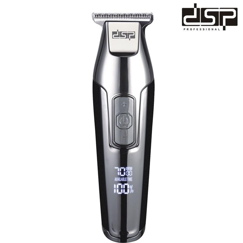 Led Barber Electric Push Shear USB Charging Set enlarge