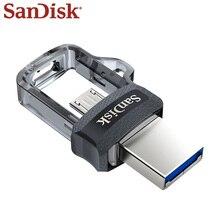 Sandisk Usb 3.0 Micro Usb Dual Otg Usb Flash Drive 256Gb 128Gb 32Gb Pen Drive Memoria Usb Stick флешка Usb 3 0 Micro Usb Flash