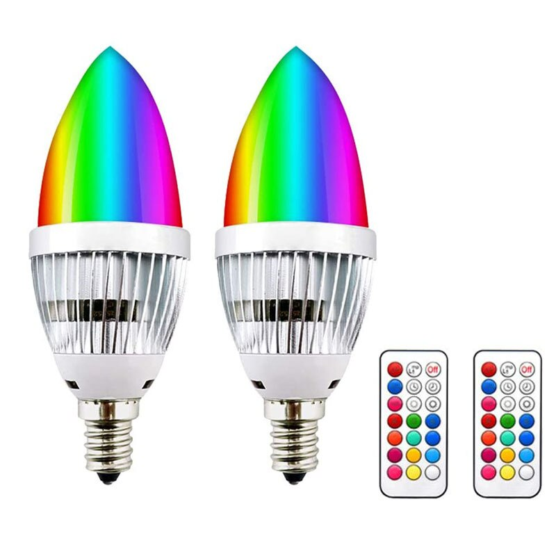 Led Bulb Lamp Lamps Lampada Color Changing Light  Lights Lighting Rgb E27 E14 E26 Luces De Colores Lampadina Lightbulb Lampadine недорого