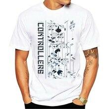 CONTROLLER EVOLUTION T-SHIRT - Video Game Konsole NES Joystick Gamepad PC Nerd  Cartoon t shirt men Unisex New Fashion tshirt