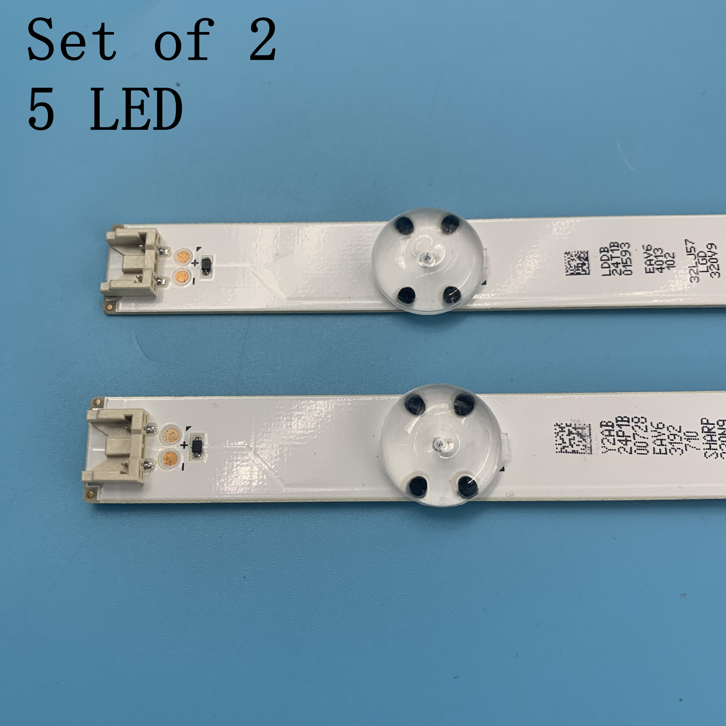 New 5 Lamps LED Backlight Strip For LG 32LH562A 32LH564A 32LH565B 32LH570B 32LH570D 32LH570U Bars Ki