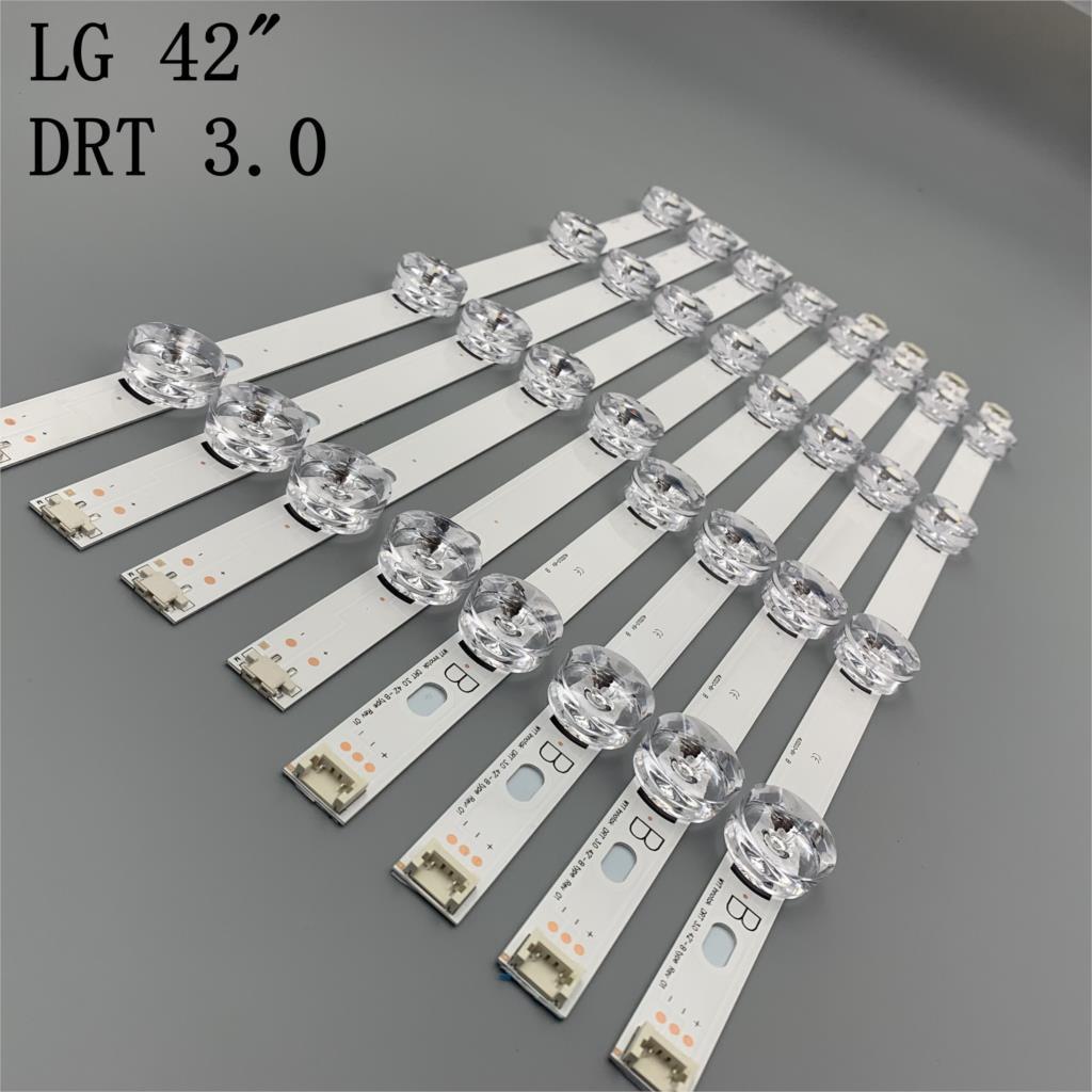 Новинка 100%, светодиодные ленты 8 шт. (4 * A,4 * B) для LG INNOTEK DRT 3,0 42 дюйма-A/B Тип 6916L 1709B 1710B 1957E 1956E 6916L-1956A 6916L-1957A