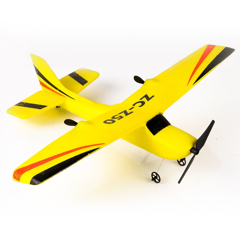 Nuevo RC Avión de control remoto del PPE planeador avión 100 metros volando juguete divertido para los niños y adultos