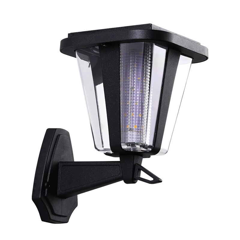 Solar Led Lights Outdoor Garden Decoration Die Casting Aluminum IP55 3W Solar Lighting Wall Lamps Reflector Light Control Lamps enlarge