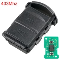433mhz 2 buttons car remote key fit for vauxhallopelcorsacombomeriva