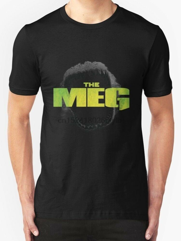 La película moscada MEGALODON hombres negro camisetas ropa