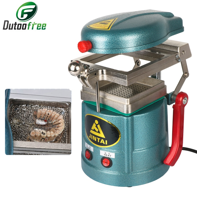 220V Dental Vacuum Forming Machine and Laminating Molding Machine Oral Material Making Tool 1000W Orthodontic Retainer chinese tangyuan forming machine rice ball making machine yuanxiao making machine sweet dumpling making machine 220v 1pc