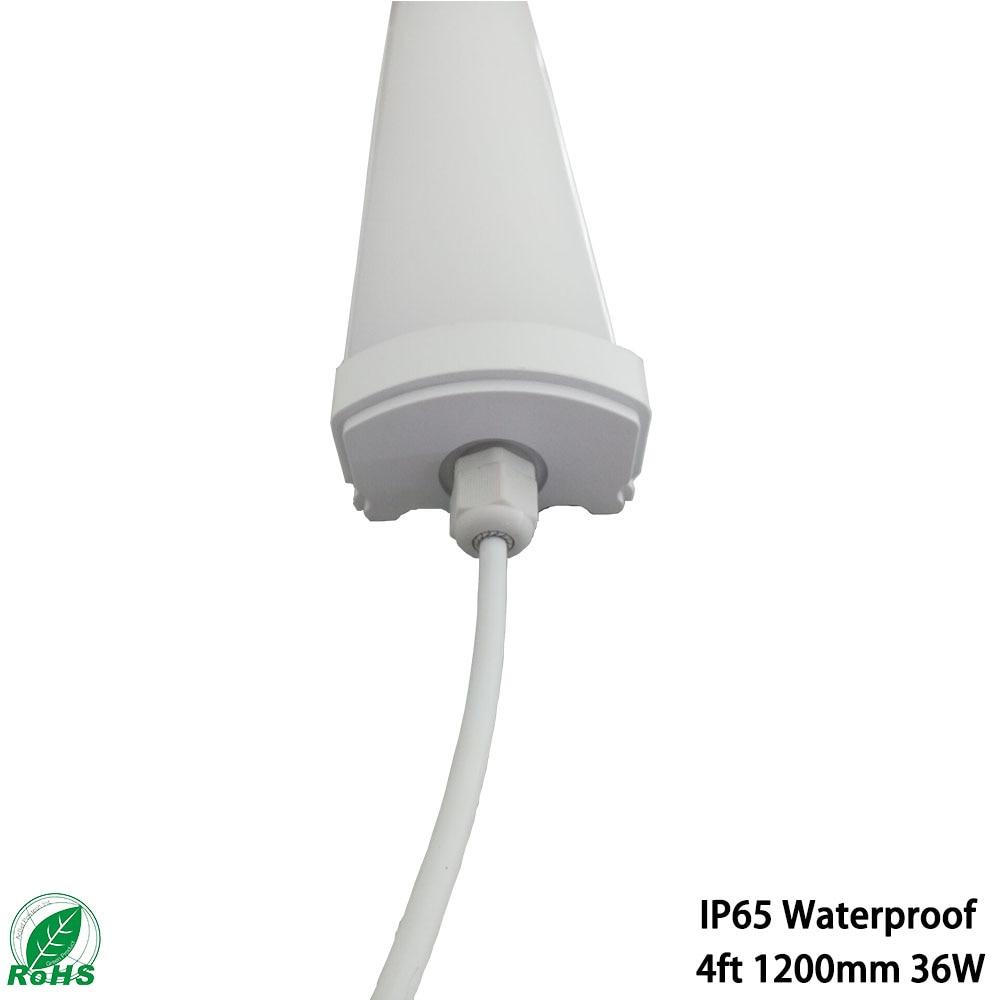 New style. Waterproof Led Tube Light  Led Tri-proof Tube Lamp RA80 4ft 120cm 54W IP65  For Underground Parking Warehouse