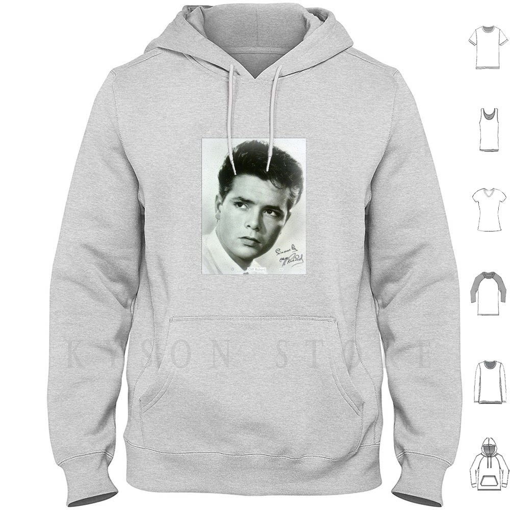 Cliff Richard Hoodies Long Sleeve Tribute Autograph Cliff Richard Sincerely Miss You Nights Sold The Creative