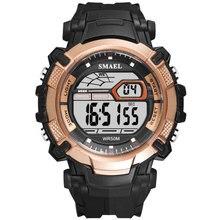 SMAEL Men Watches Men Led Digital Watches Men Sport Watches Waterproof Electronic Wristwatches Men h