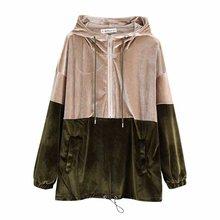 Woah Fashion The European and American fashion velvet fleece BB58-9710