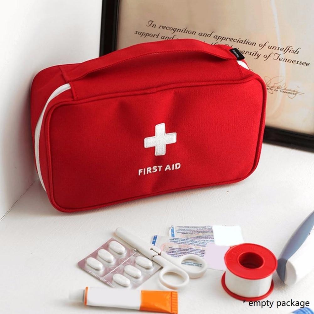 Kit de primeros auxilios para medicamentos Camping al aire libre bolsa médica bolso de supervivencia Kits de viaje conjunto portátil Envío Directo caliente sa