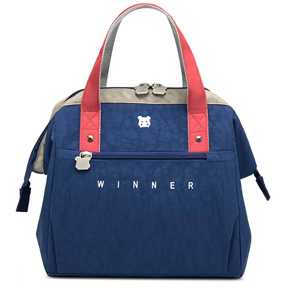 Winner New Thermal Insulated Lunch Box Tote Cooler Bag Bento Pouch Lunch Container School Food Storage Bags
