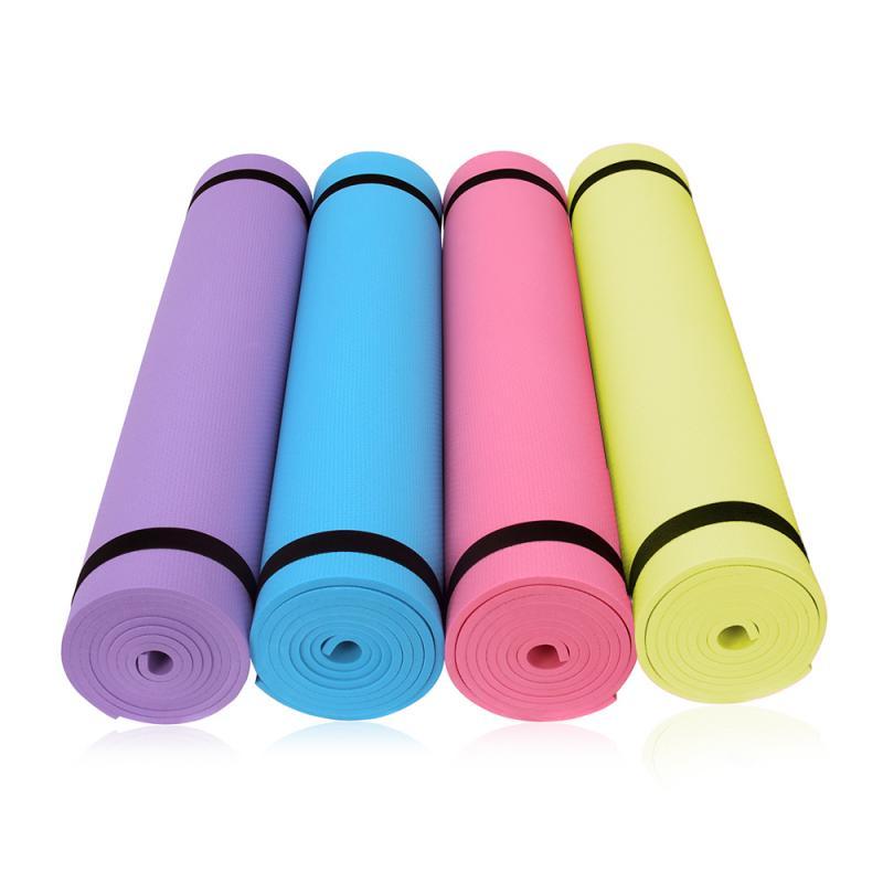 Yoga esteira almofada dobrável ginástica esteiras exercício antiderrapante perder peso impermeável esporte esteira à prova de umidade almofadas equipamentos de fitness