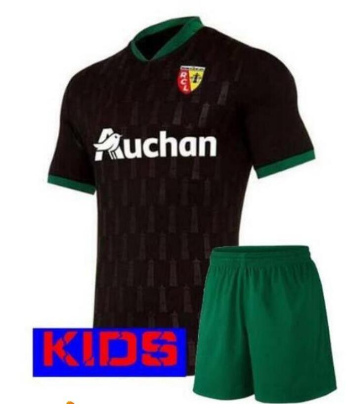 2020 2021 objektiv kinder kits Gradit Fortes Cahuzac Perez RC Objektiv maillot de fuß Camisa de futebol jungen Shirts