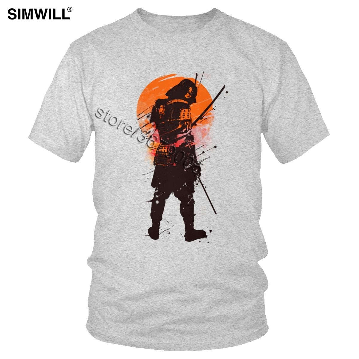 Letzten Samurai Stehenden Krieger T Shirts Mode Lässig Baumwolle T-stück Männer Short Sleeve Crew Neck Japanischen Tugenden Bushido T-Shirt