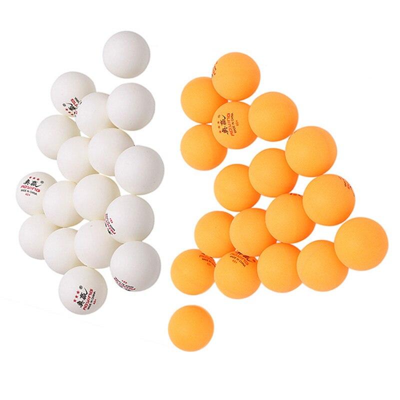 30 pçs 40mm 2.8g bolas de tênis de mesa branco amarelo pingpong bola de treinamento tênis de mesa esportes manter saudável pingpong bola