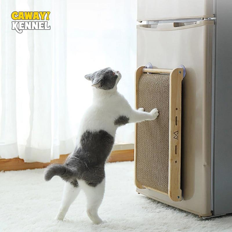 Cabellagkennel-لوح خدش للقطط ، لوح تجليخ من الخشب الصلب ، مقاوم للخدش ، للقطط