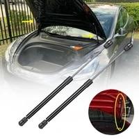 2pcs hood lift support struts automatic engine cover support for tesla model 3 struts lift support shock damper accessories